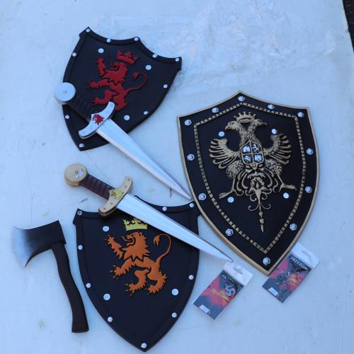 KIDS Themed Fun Knight Foam Weapon Bundle Set