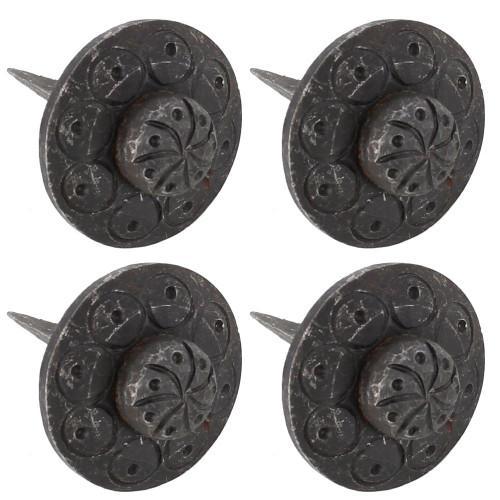 Decorative Artisan Forged Iron Clavos Set