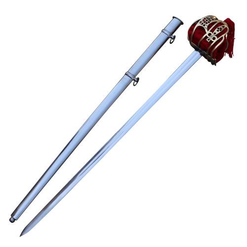 Basket Hilted Historical Replica Scottish Broad Sword