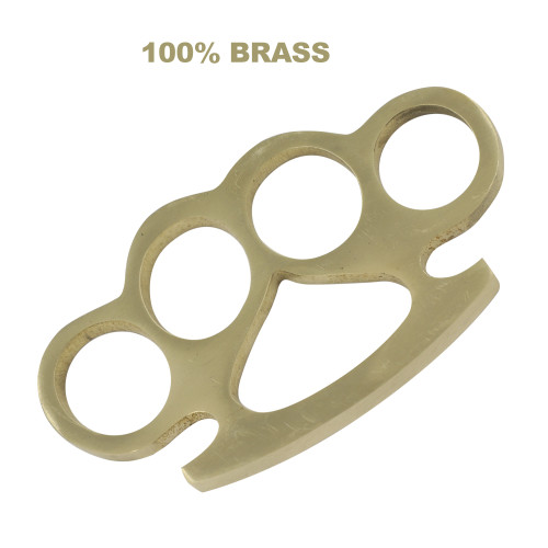 Dirty Dealer 100% Pure Brass Knuckle Paper Weight Accessory