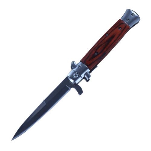 Solstice Spring Assisted Stiletto Folding Pocket Knife