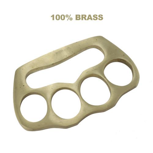 Bear Fist 100% Pure Brass Heavy Duty Knuckle Paper Weight Accessory