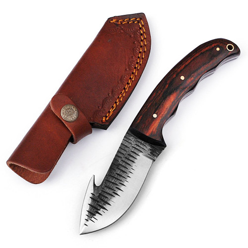 Barracuda Full Tang Gut Hook Outdoor Hunting Knife
