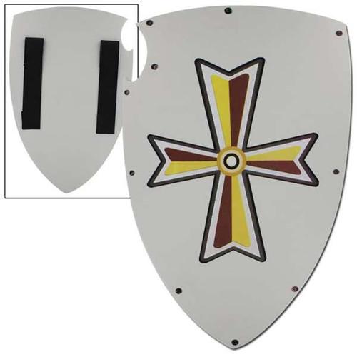 Shining Cross Medieval Knights Foam Shield