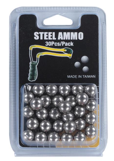 Slingshot 30 Piece 3-8 Inch Steel Ball Ammunition