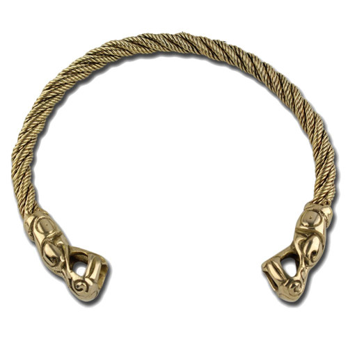 Ancient Roman Brass Torc