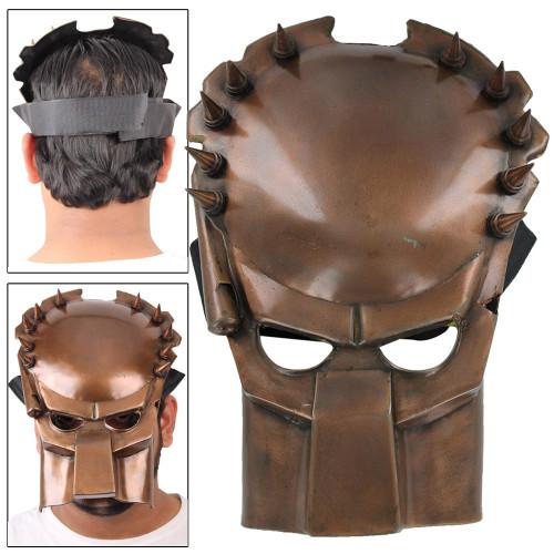 Fantasy Predator Warrior Copper Movie Battle Mask
