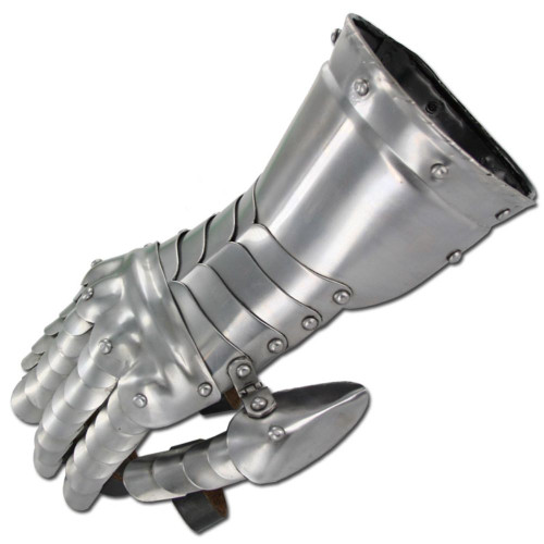 Medieval Knight Gauntlets Functional Armor Gloves