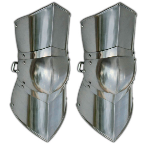 Authentic Battle Ready Greaves Leg Armor Large