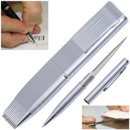 Elegant Executive Dozen Pen Knife Silver