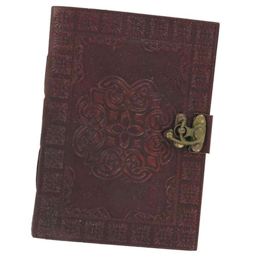 Celtic Circle Handmade Medieval Leather Journal