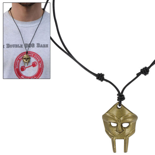 Face of Metal Radical Doom Warrior Necklace