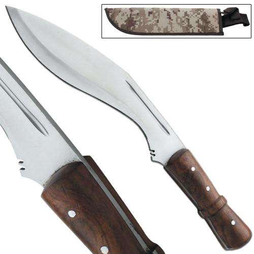 Congolian Jungle Hunting Kukri Hand Forged Machete