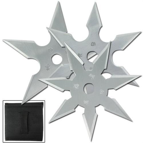 Khoga Ninja Sure Stick Throwing Star 3pcs Set