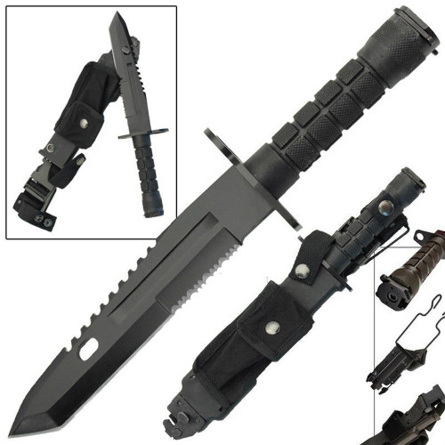 Resistance Combat Military Bayonet Tactical Survival Knife