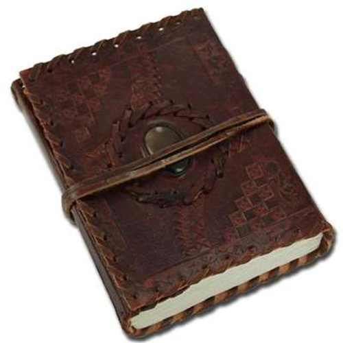 Leather Cover Spell Book Journal Classic Diary
