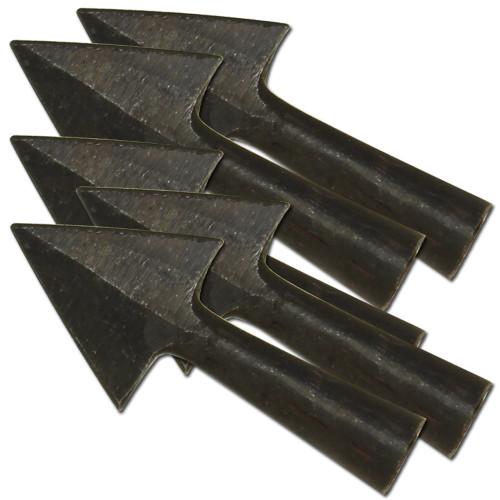 Anglo-Saxon Iron Warfare 5 Piece Set Arrowheads