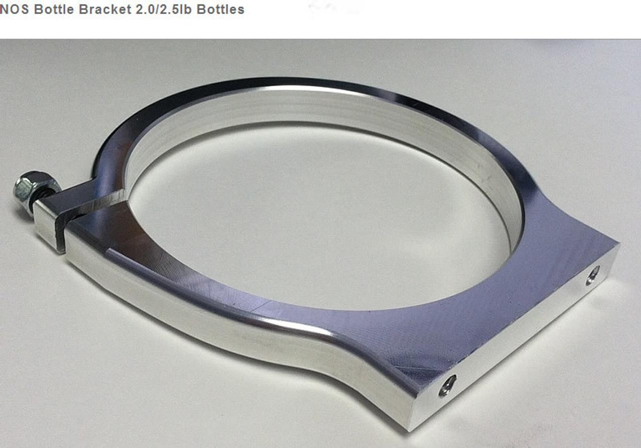 NOS Bottle Bracket 2.0/2.5lb Bottles (2 7/8 Mounting Hole Spacing)