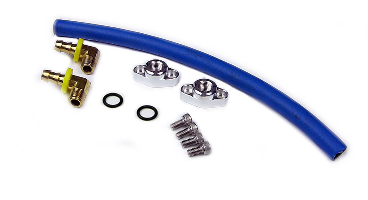 Oil Cooler Bypass Kit -Suzuki GSXR1000 (2001-2008)