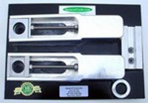 "Kawasaki 1998-1999 ZX9 Bolt On Swingarm Extensions 2""- 7"""