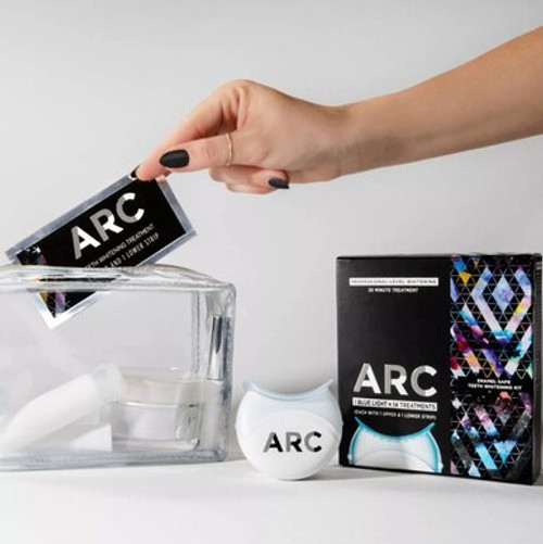 Professional Level Whitening At Home Arc Blue Light Teeth