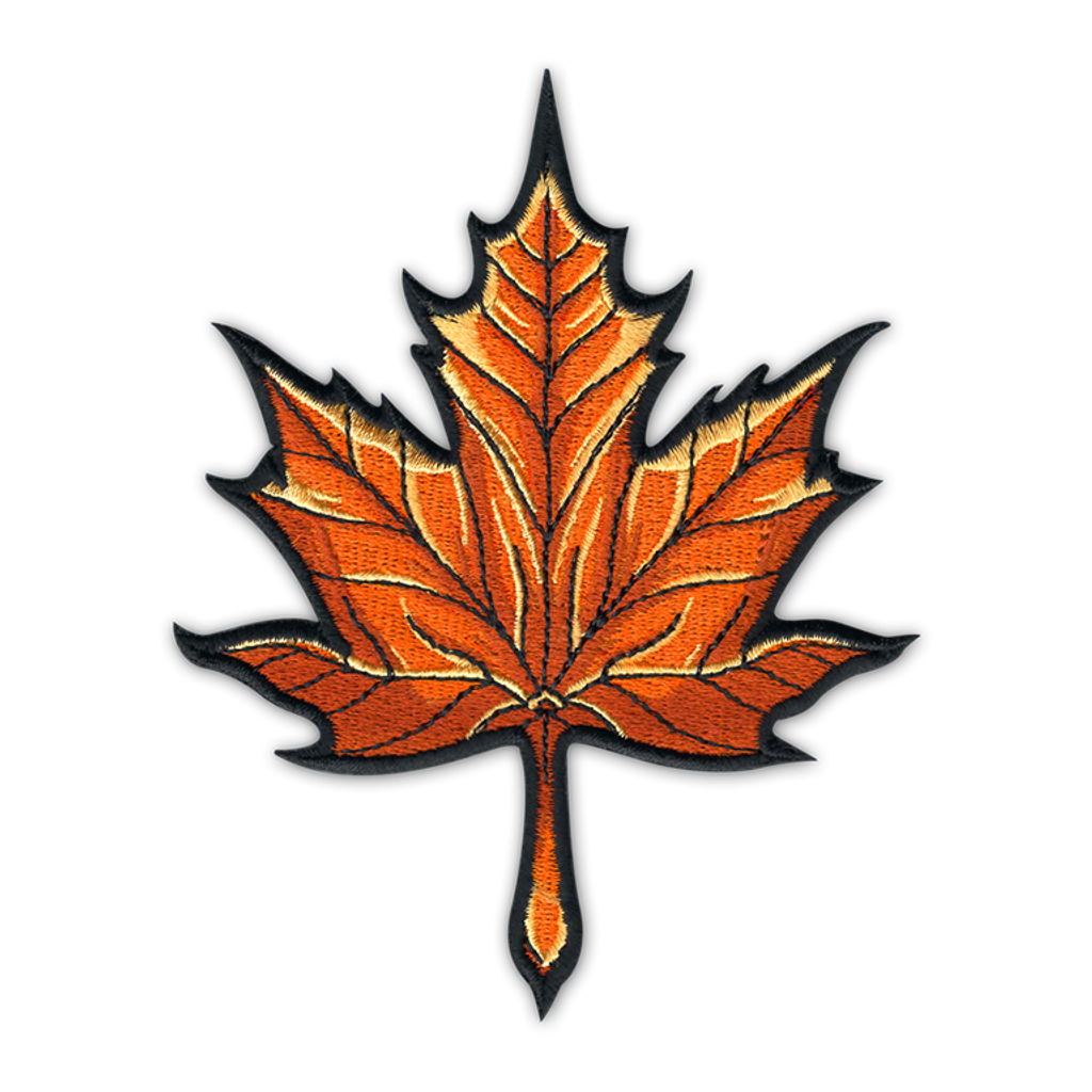 Maple Leaf Patch Seventh Ink