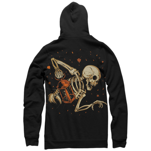 The Keeper Zip-Up Hoody by Seventh.Ink