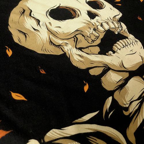 Mapled Crewneck Sweatshirt by Seventh.Ink