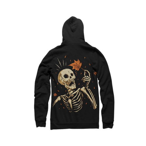 Mapled Youth Zip-Up Hoody by Seventh.Ink