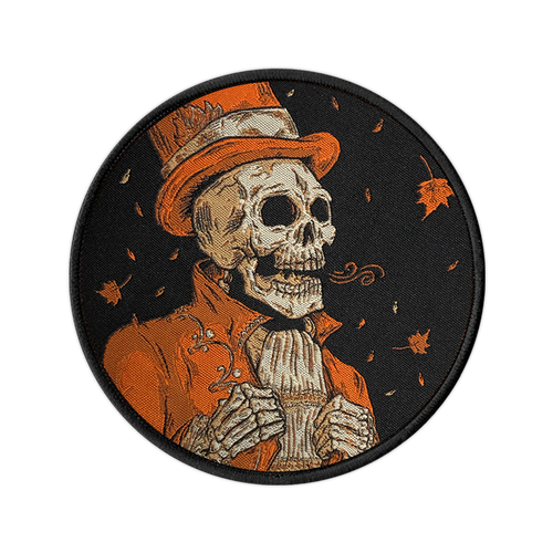 Victorian Autumn Woven Patch by Seventh.Ink