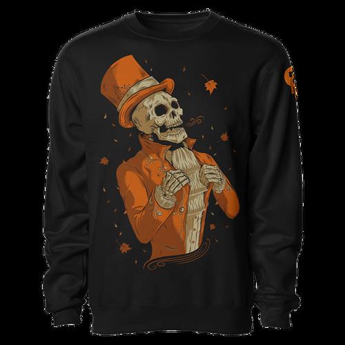 Victorian Autumn Crewneck Sweatshirt by Seventh.Ink