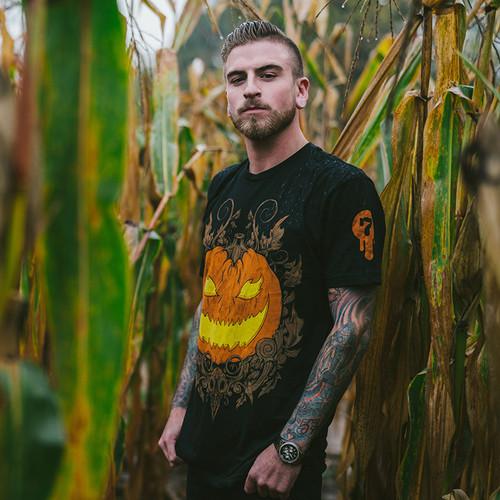 Haunted Harvest 4 jack o lantern shirt by Seventh.Ink