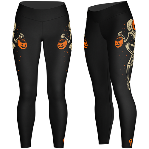 Night of the Pumpkin Leggings by Seventh.Ink