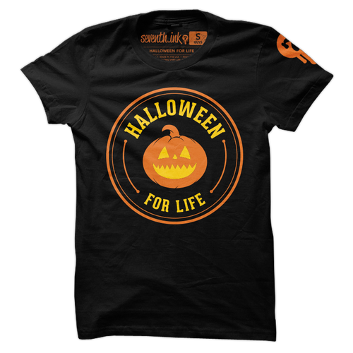 Halloween for Life T-Shirt by Seventh.Ink