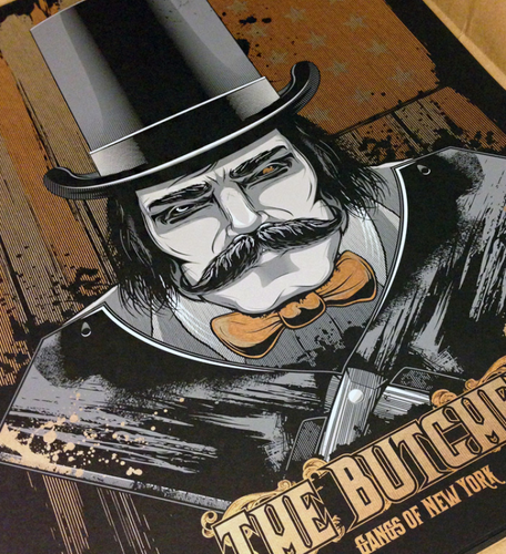 The Butcher 18x24 AP Screen Print by Matthew Johnson