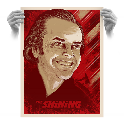 The Shining 18x24 AP Screen Print