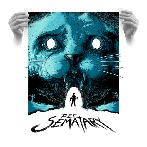 Pet Sematary 18x24 AP Variant - Only 1 Available!