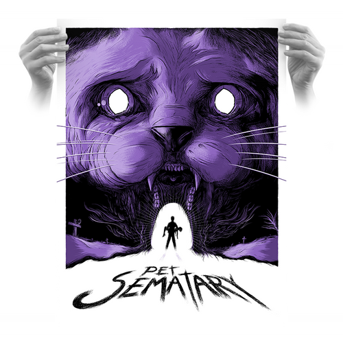 Pet Sematary 18x24 AP Screen Print