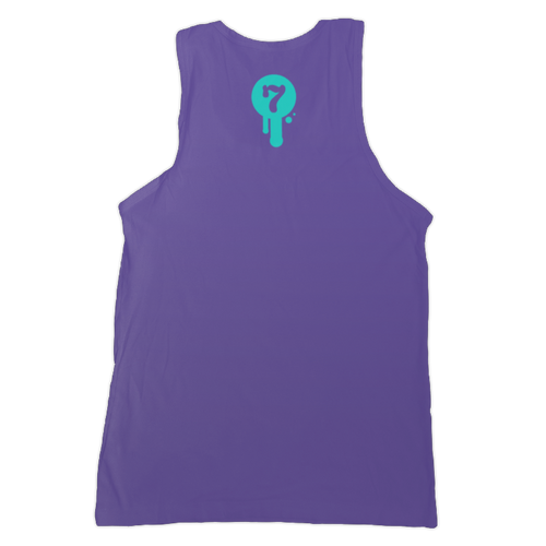 Purple Unisex Logo Tank