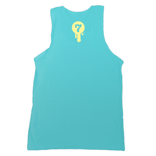 Tahiti logo tank top by Seventh.Ink