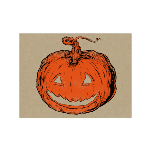 9x12 HCVI Pumpkin Screen Print