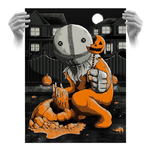 Trick 'r Treat 18x24 Variant Screen Print