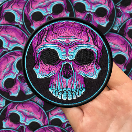 Voodoo Skull Patch