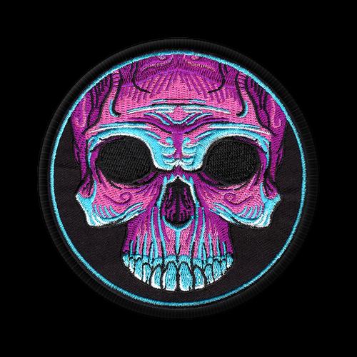 Voodoo Skull Patch