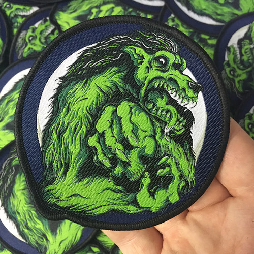 Shakespeare's Wolf Woven Patch