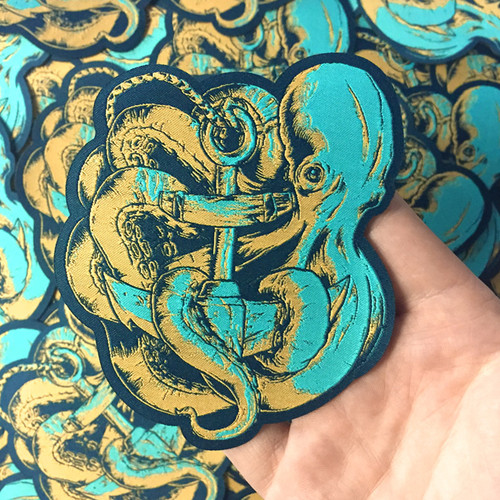 Aquatic Aid octopus patch by Seventh.Ink