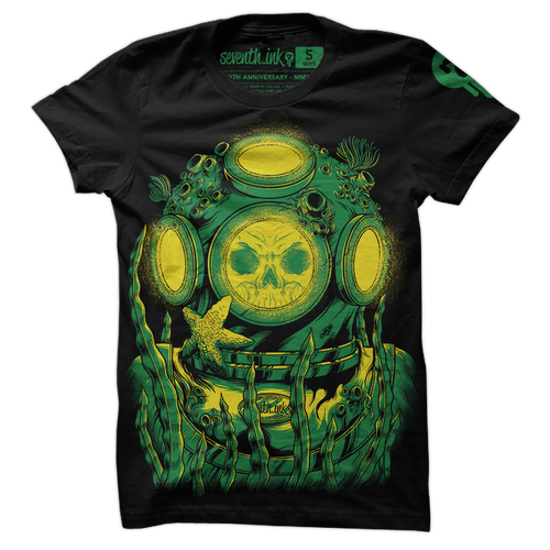 Diver shirt by Seventh.Ink