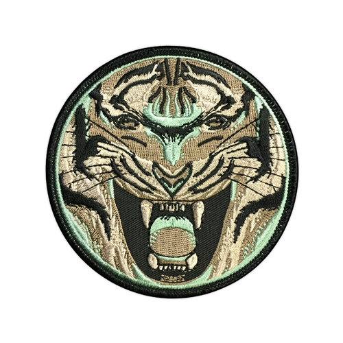 Gray Tiger Patch by Seventh.Ink