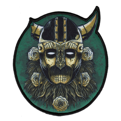 Norseman Large Printed Patch by Seventh.Ink