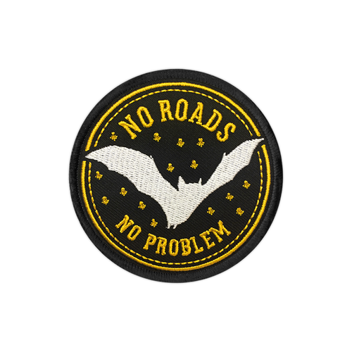 No Roads No Problem Patch by Seventh.Ink